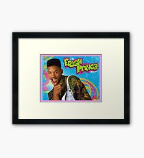 """Will """"Stoned"""" Smith, Fresh Prince Framed Print"""