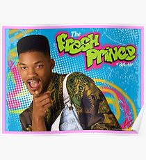 "Will ""Stoned"" Smith, Fresh Prince Poster"