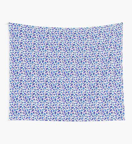 Galaxy crystals Wall Tapestry