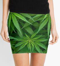 Marijuana Cannabis Weed Pot Plants Mini Skirt