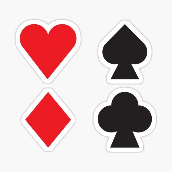 Playing Card Sticker
