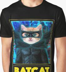 BAT CAT Graphic T-Shirt