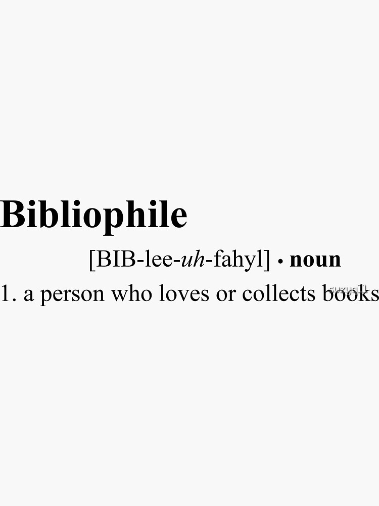 Definición bibliófila de suzyq11