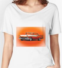 1957 Ford Fairlane Hardtop Women's Relaxed Fit T-Shirt