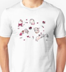 Valentine's Day Guinea Pigs T-Shirt