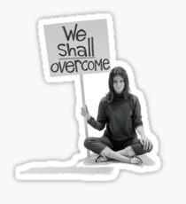 "Women's Movement ""We Shall Overcome"" Sticker"
