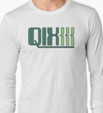 Qix (Game Boy Title Screen) Long Sleeve T-Shirt