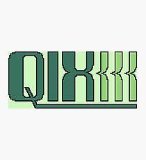 Qix (Game Boy Title Screen) Photographic Print