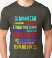 Slammin Can Colour Unisex T-Shirt