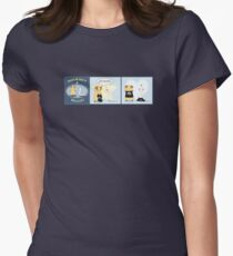 Squeaky & Snakey T-Shirt Day Womens Fitted T-Shirt