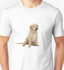 Cute Golden Retriever Unisex T-Shirt