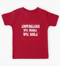 Sayings About Engineers Kids Tee