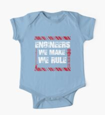 Sayings About Engineers Kids Clothes
