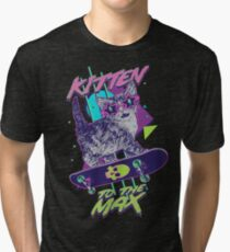 Kitten To The Max Tri-blend T-Shirt