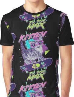 Kitten To The Max Graphic T-Shirt