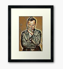 the Amazing Andrew Scott Framed Print