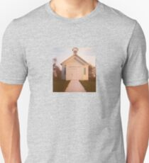Wisconsin Rural Schoolhouse - Lomograph Diana 120mm Photograph Unisex T-Shirt