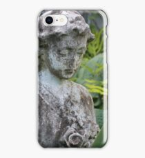 The Girl Amongst the Ferns II iPhone Case/Skin