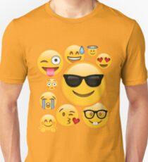 Emoji Pack ComboT-shirt Emoticon Smily Face Tshirt T-Shirt