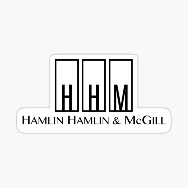 Hamlin, Hamlin & McGill Sticker
