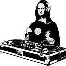 DJ Mona Lisa by robotface