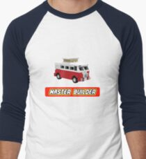 MicroBus Hippy Camper Van Master Builder Graphic for Expert Builders T-Shirt