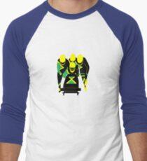 Jamaican Bobsled Team Men's Baseball ¾ T-Shirt