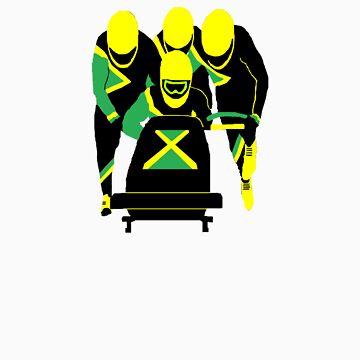 Jamaican Bobsled Team by MrTWilson
