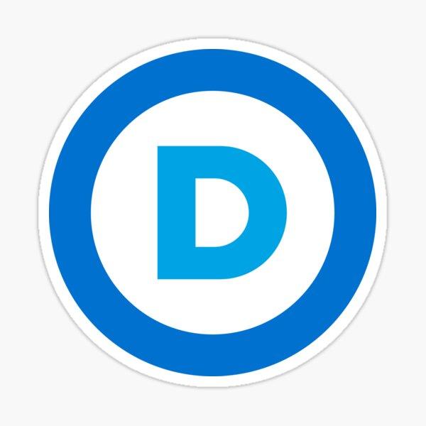 Democratic Logo Sticker