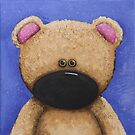 Teddy Bear in Blue by StressieCat