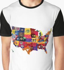 College Country Graphic T-Shirt