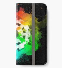 Heda - Pride Edition (dunkel) iPhone Flip-Case/Hülle/Klebefolie