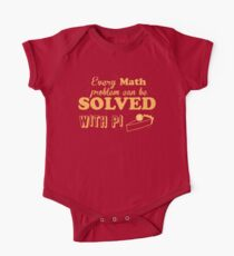Every math problem can be solved with PI (Pie) Kids Clothes