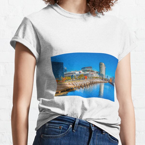 Reflections at Docklands - Melbourne, Victoria Classic T-Shirt