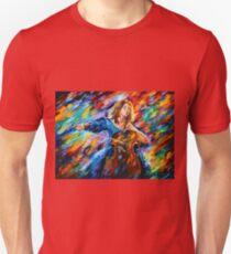 Music - Leonid Afremov T-Shirt