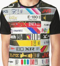 Camiseta gráfica Cintas VHS