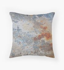 Rusted surface Throw Pillow