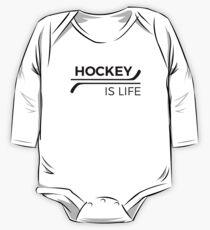 Hockey ist Leben Langärmeliger Einteiler