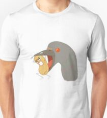 Peanut in Trouble, A Pigeon! T-Shirt