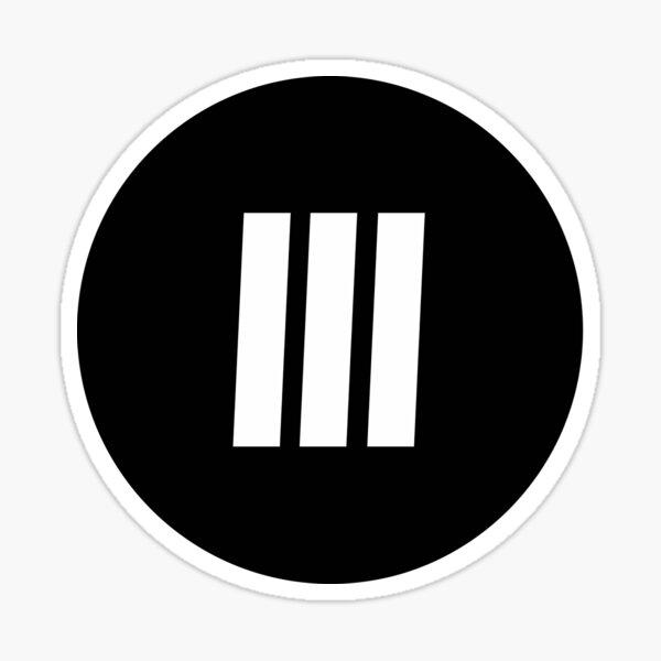 Adidas Stripes Sticker