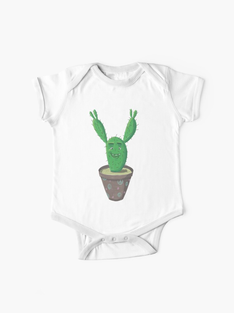 Cactus Puns are Succulent Sleeveless Baybe Romper