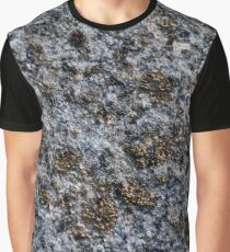 rock with gold pigments Graphic T-Shirt