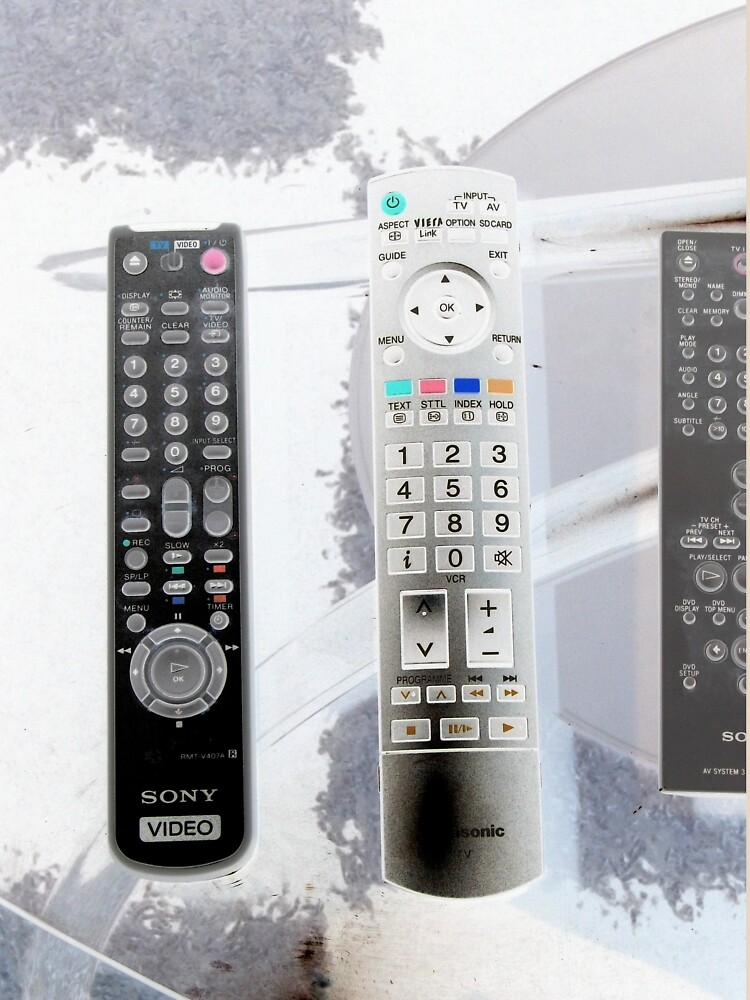 Remote: Take Control of your Life by ZambArt