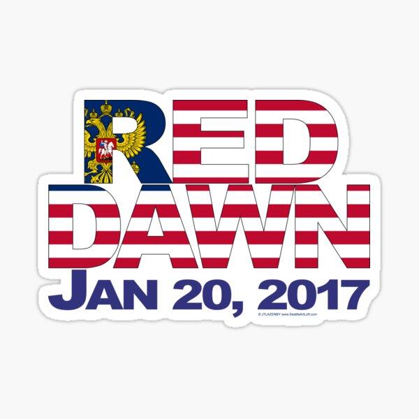Red Dawn Sticker