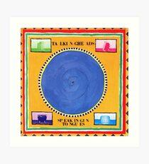 Talking Heads - Sprechen in Zungen Kunstdruck