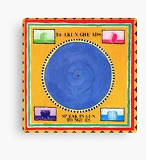 Talking Heads - Speaking in Tongues Canvas Print