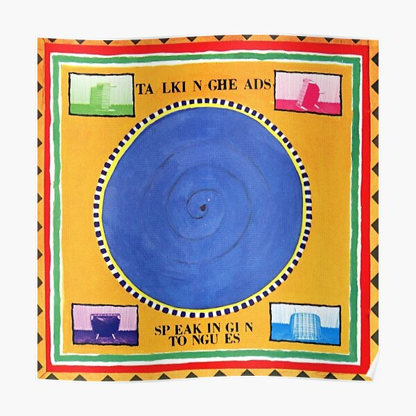 Talking Heads - Speaking in Tongues Poster