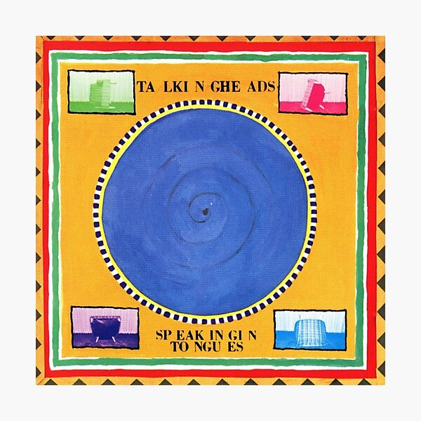 Talking Heads - Speaking in Tongues Photographic Print