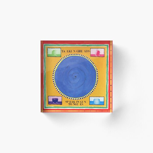 Talking Heads - Speaking in Tongues Acrylic Block