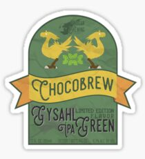 Chocobrew - Gysahl Green IPA Sticker